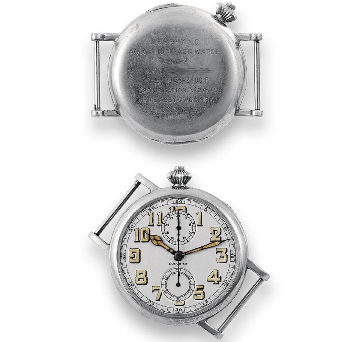 The Longines - Avigation Watch Type A-7 1935