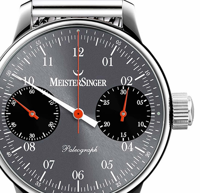 MeisterSinger Paleograph - Single Push Column Wheel Chronograph Ref. SC107