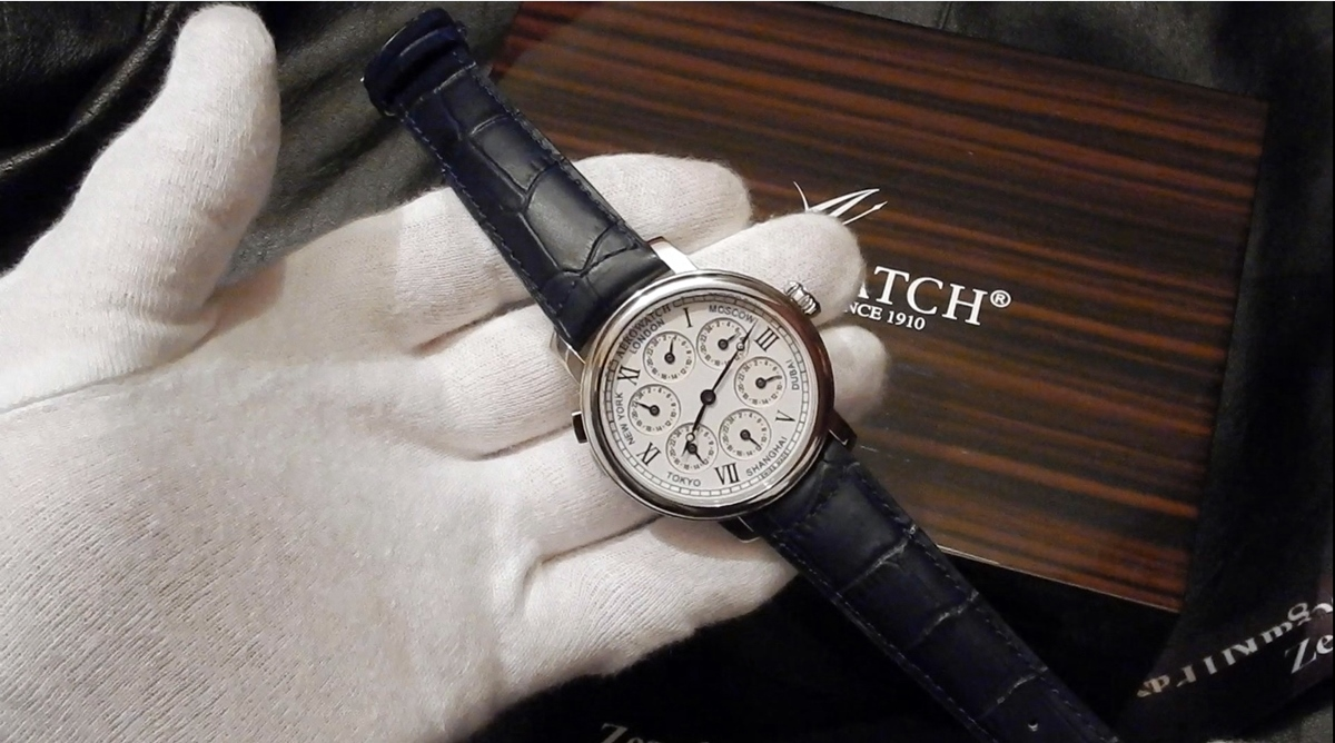 Video recenzja: Aerowatch Renaissance 7 Time Zones