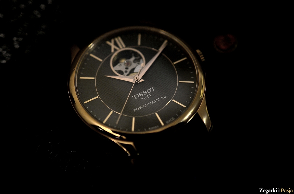 Recenzja: TISSOT Tradition Powermatic 80 Open Heart