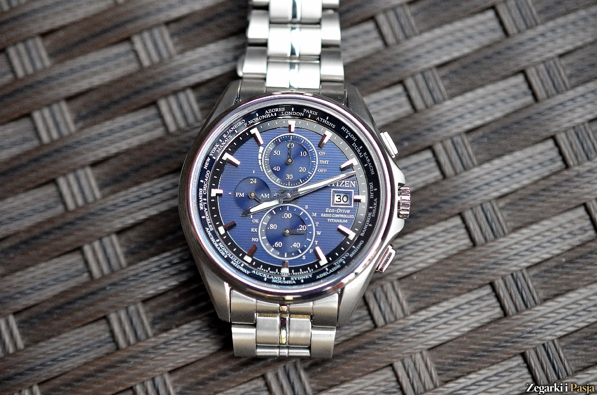 Recenzja: CITIZEN Eco-Drive World Time Radio Controlled Super Titanium™