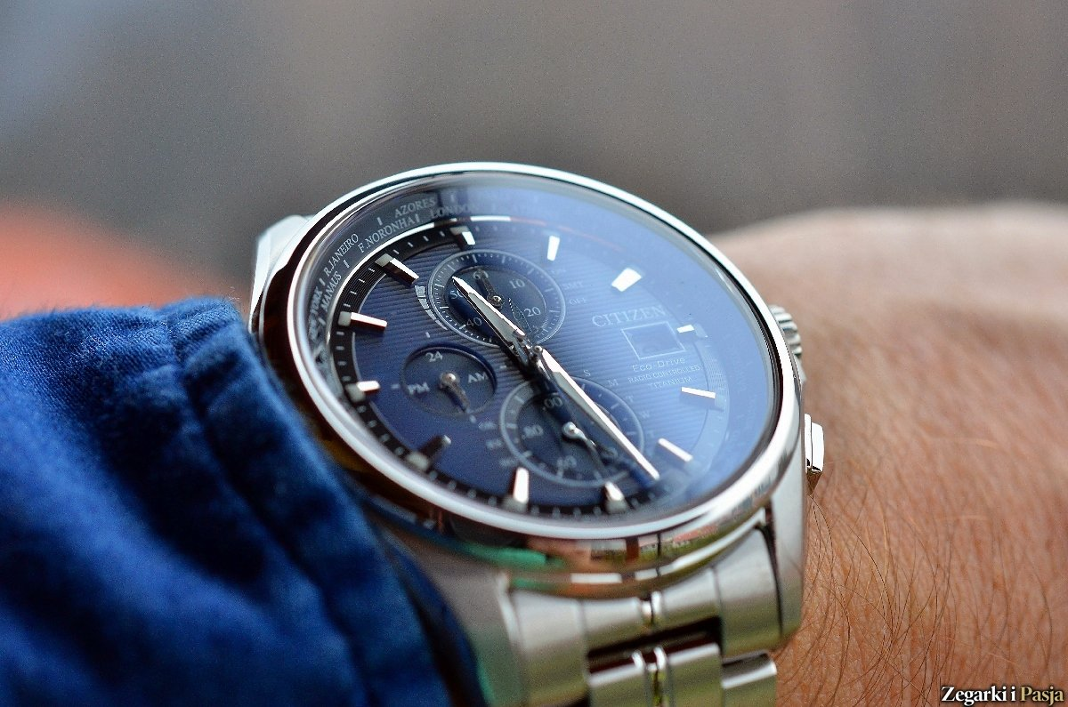 Recenzja: CITIZEN Eco-Drive World Time Radio Controlled Titanium