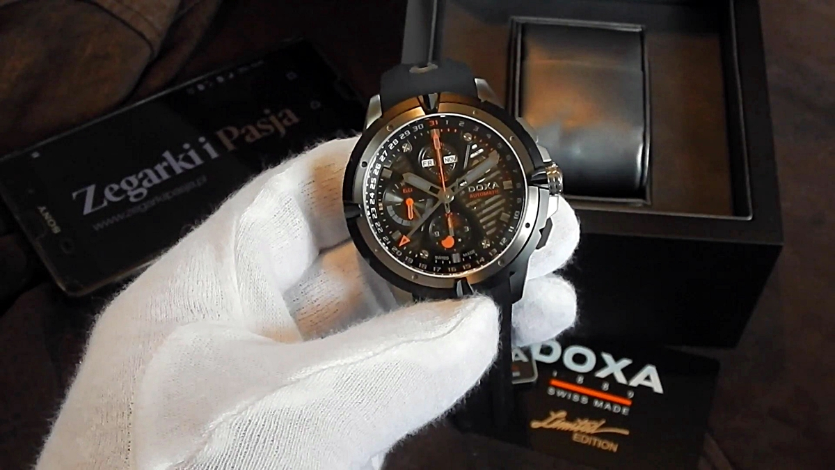 Video recenzja: DOXA Trofeo T-Master Limited Edition D197BBO