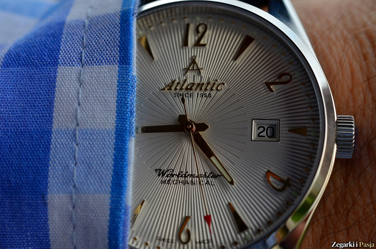 Recenzja: ATLANTIC Worldmaster Art Deco Mechanical