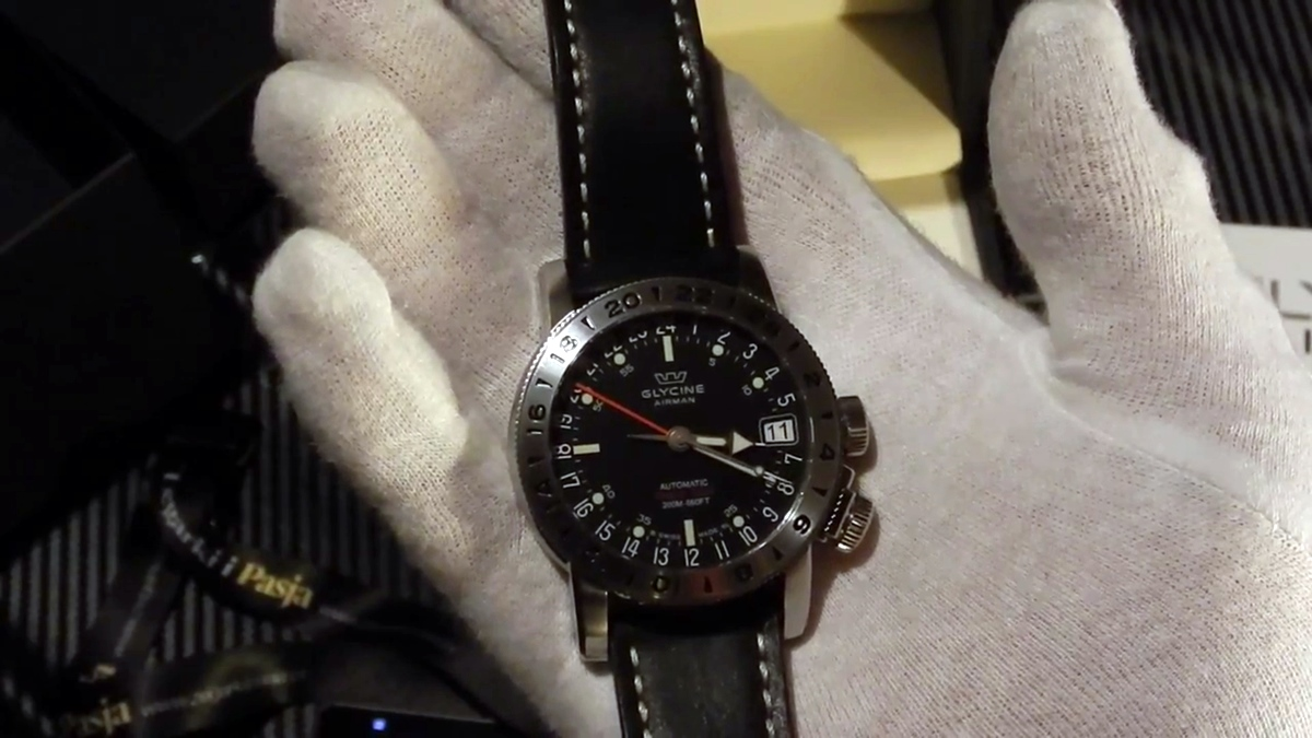 Video recenzja: Glycine Airman 17 World Timer