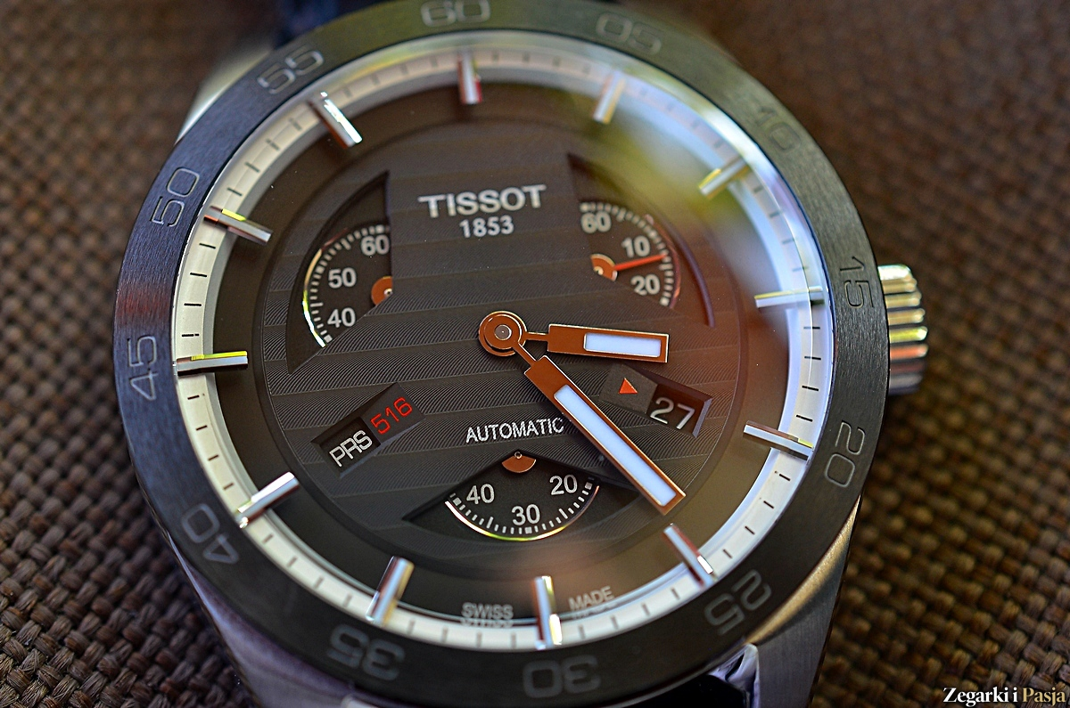 TISSOT PRS 516 Automatic Small Second – recenzja
