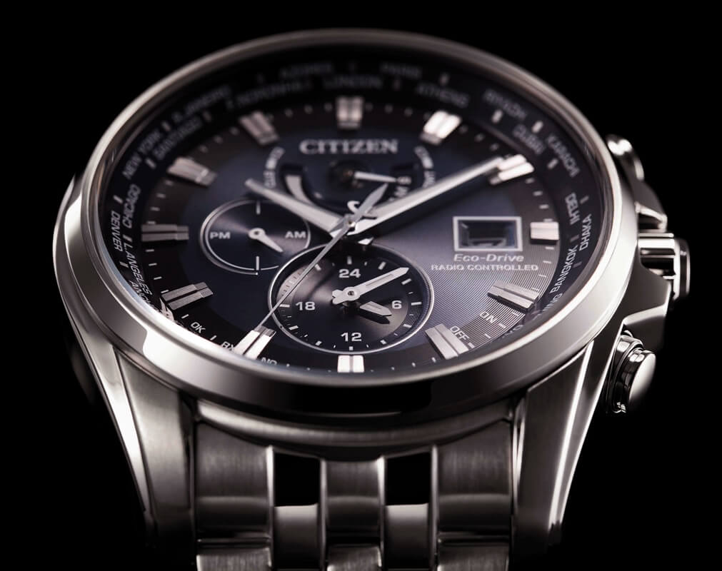 Technologie Eco-Drive i Radio Controlled marki Citizen