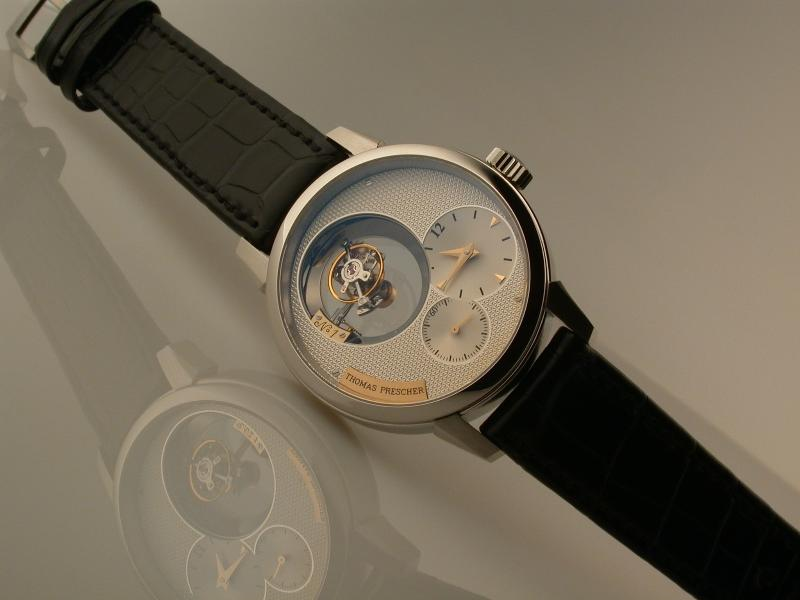 2004 - Triple-Axis Flying Tourbillon in a wristwach