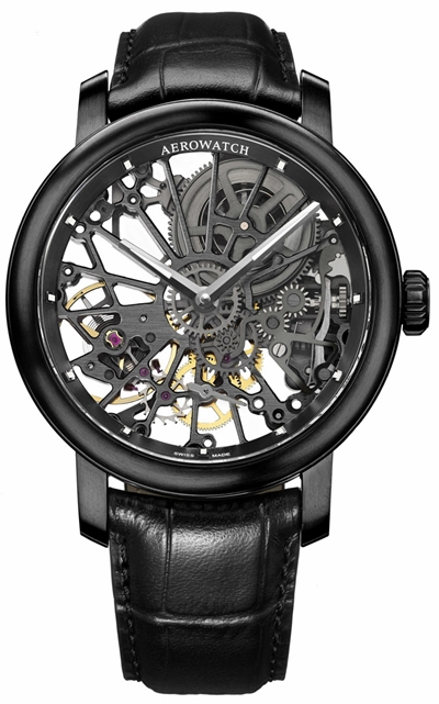 AEROWATCH – Renaissance All Black