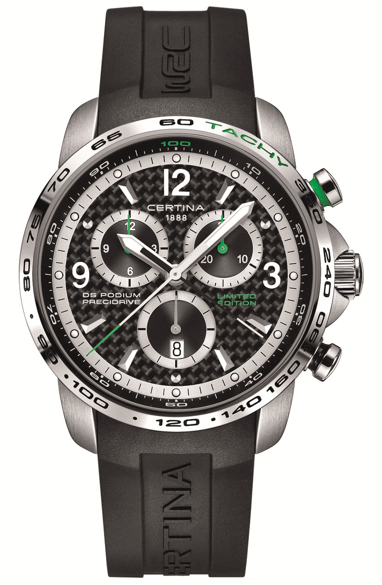 DS Podium Big Size Chronograph – WRC Limited Edition