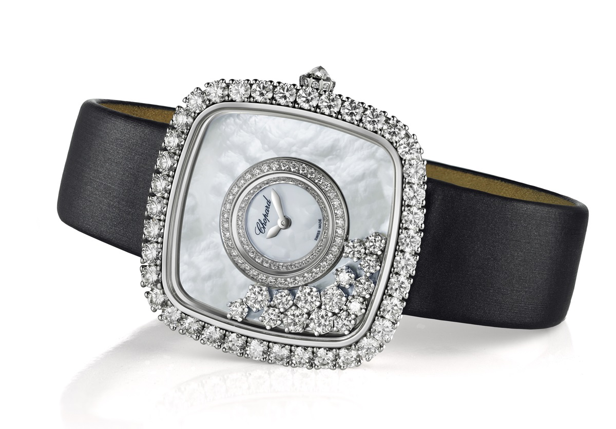Chopard zegarek Happy Diamonds