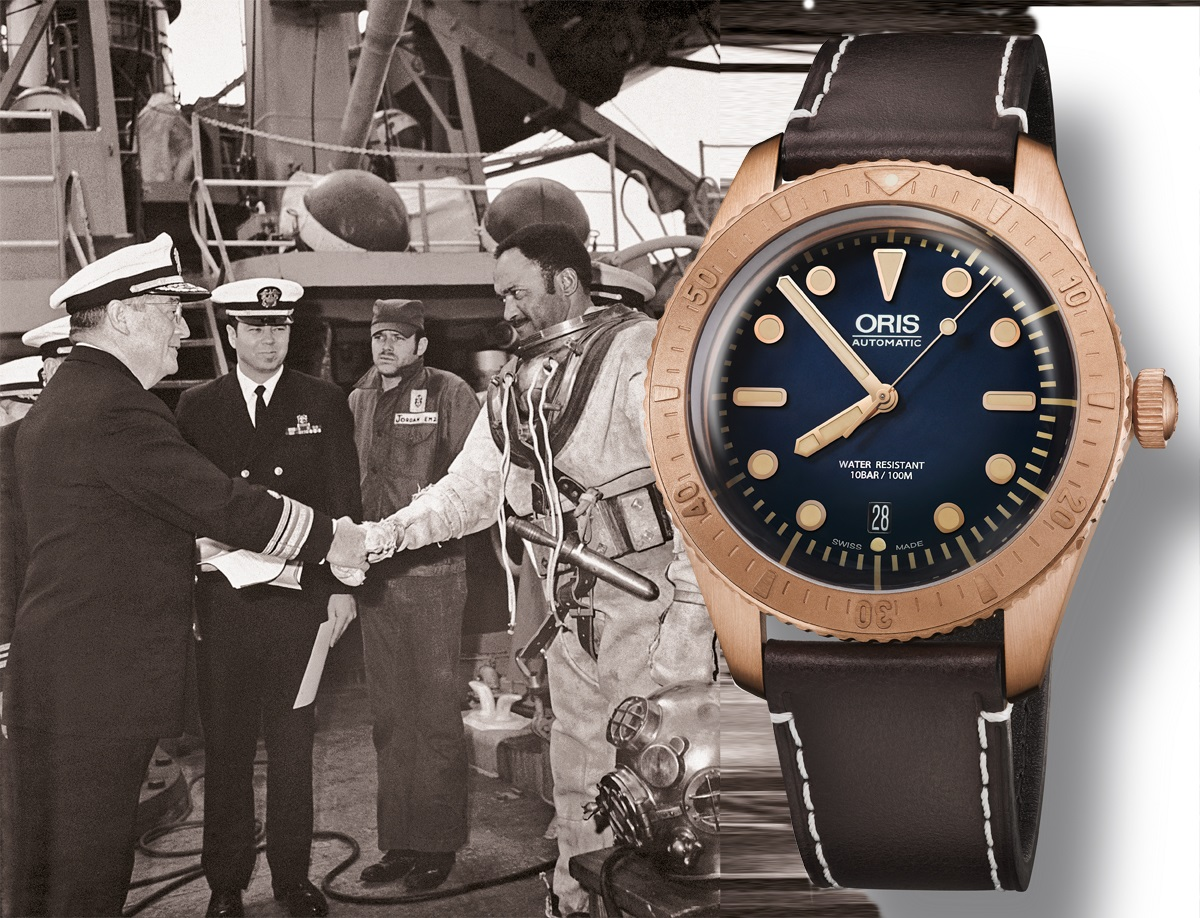 "Oris w brązach, ""Man of honour"", Carl Brashear"