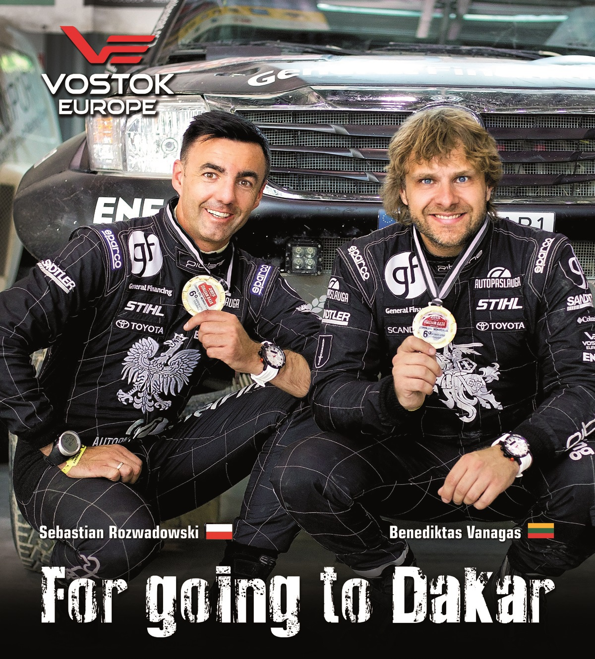 Going for Dakar Vostok Europe