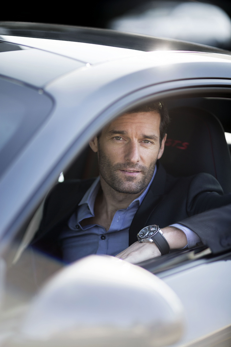 Mark Webber i Chopard