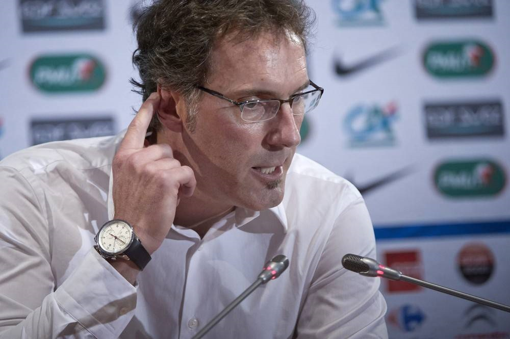 Paris Saint Germain – trener Laurent Blanc