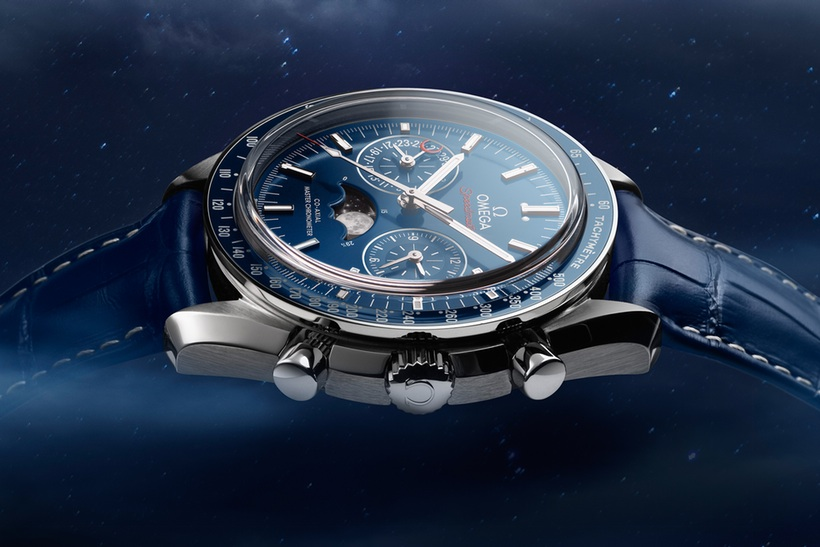 OMEGA Speedmaster Moonwatch Moonphase Master Chronometer