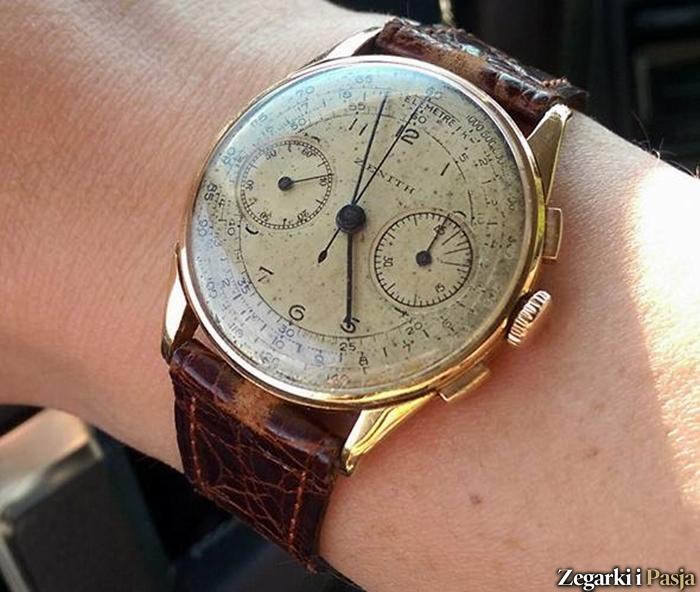 spotyka się z zegarkiem Hamilton