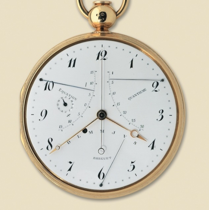 1783 - The first self-winding perpetual calendar