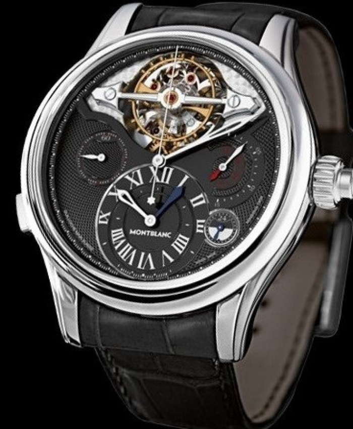 2010 - Innovative tourbillon with balance wheel outside the cage