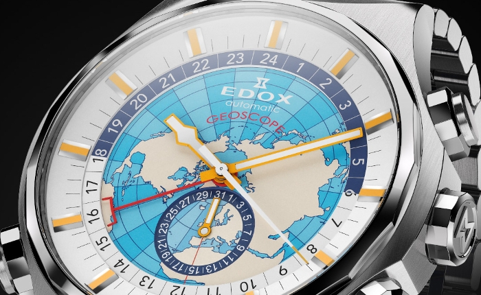 Edox Geoscope GMT Automatic Limited Edition