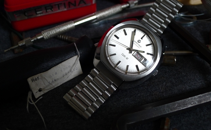 "Zegarki Vintage: CERTINA DS-2 Automatic ""Certiday"" PL"