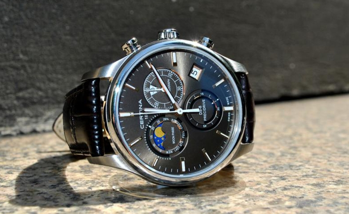 CERTINA DS-8 Chrono Moonphase Precidrive -  idealna do garnituru