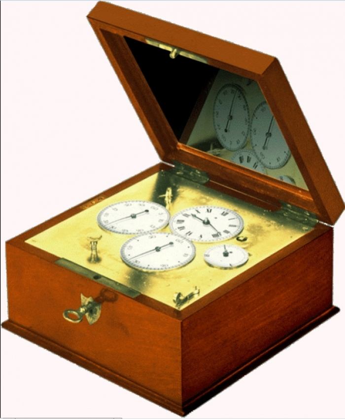 1828 - Chronograph counter for physics and astronomy with flyback hand