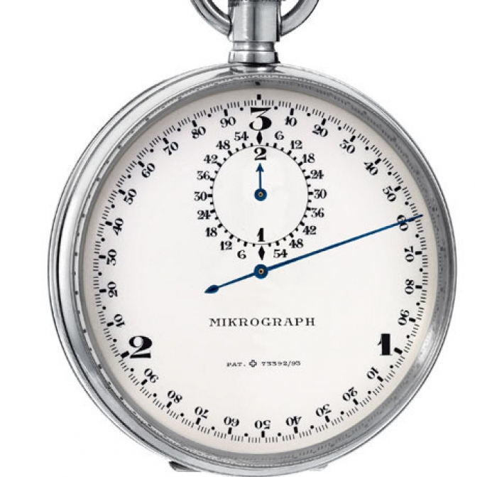 1916 - Mikrograph stopwatch with ability to time to 1/ 100th of second
