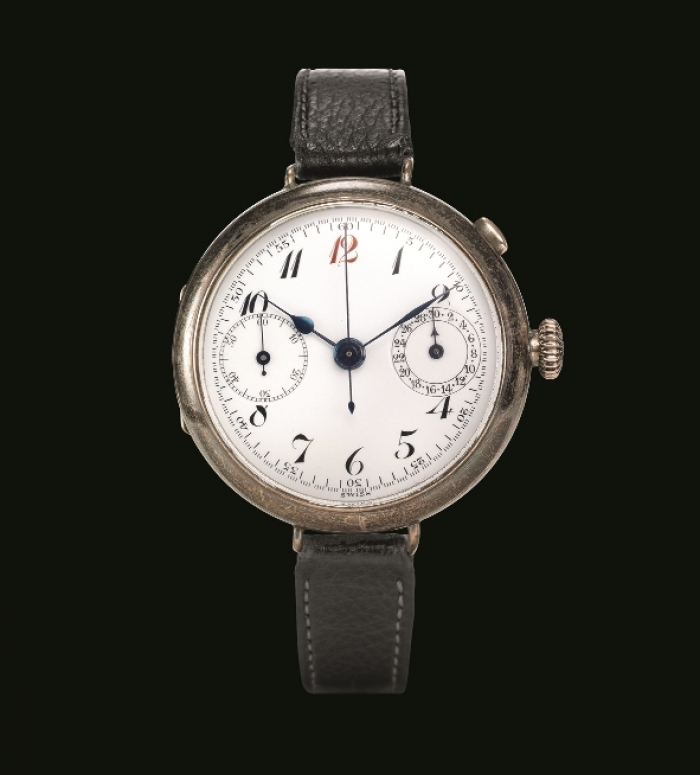 1915 - Wristwatch chronograph with independent pusher