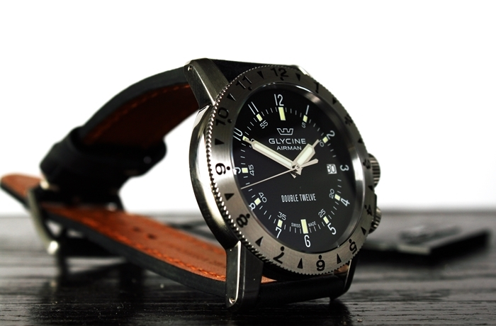 "GLYCINE – model Airman ""Double Twelve"""