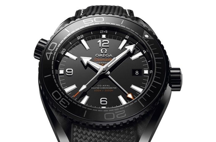 OMEGA – kolekcja Planet Ocean DEEP BLACK