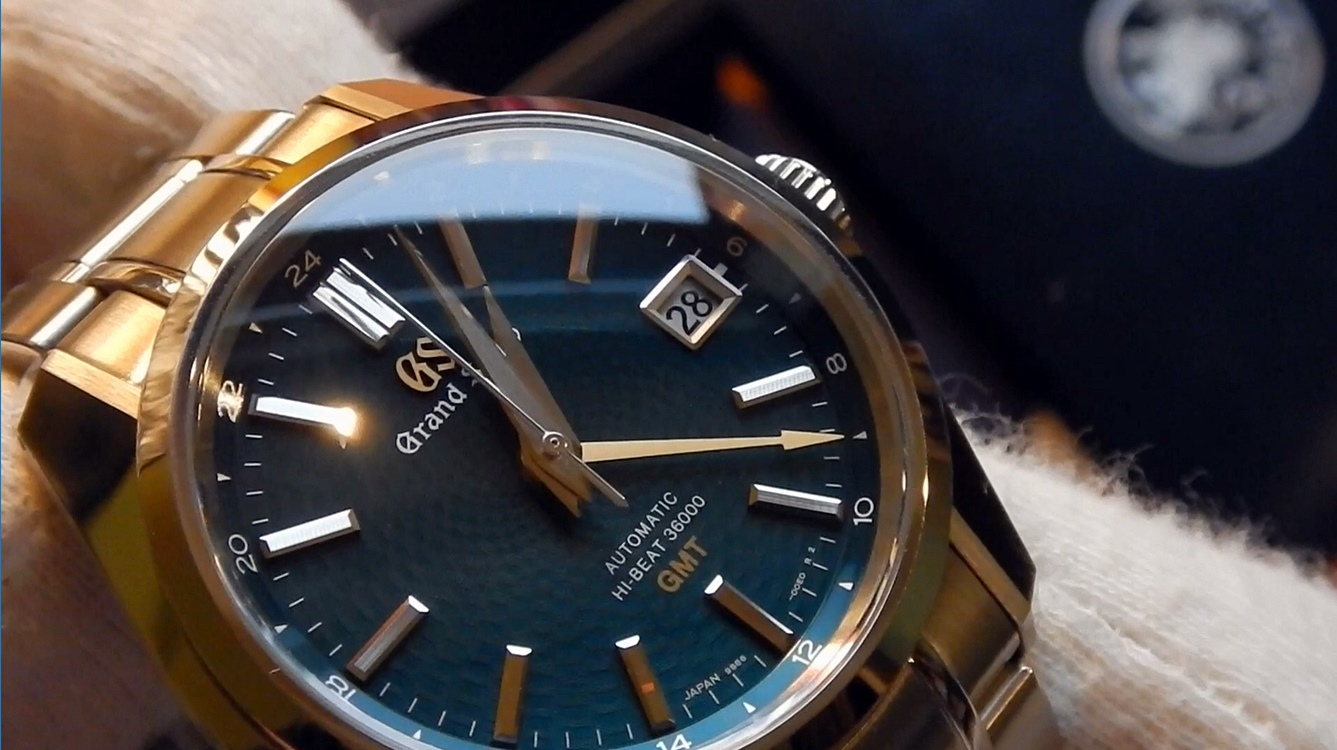 "Video recenzja: The Grand Seiko Hi-Beat 36000 GMT Limited Edition ""Peacock"""