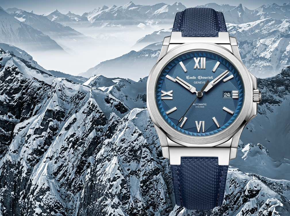 Emile Chouriet Geneve - Ice Cliff Automatic