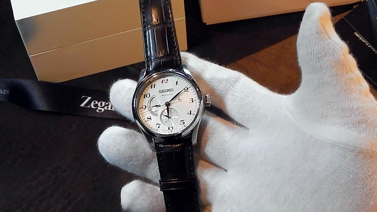 Video recenzja: SEIKO Presage Multi-hand Automatic SPB041