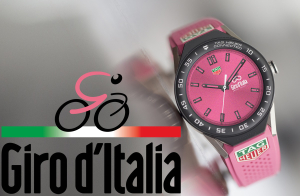 TAG Heuer i specjalny model Connected Modular 45 na Giro d'Italia 2018!