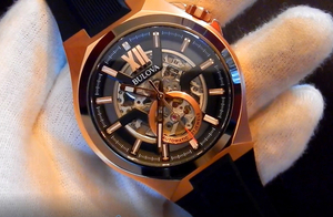 Video recenzja: Bulova 98A177 Automatic Skeleton