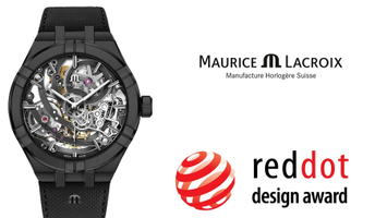 Nagroda Red Dot Design Award 2019 dla Maurice Lacroix Aikon Skeleton!