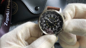 Video recenzja: BULOVA A-15 Pilot Dual Time Automatic