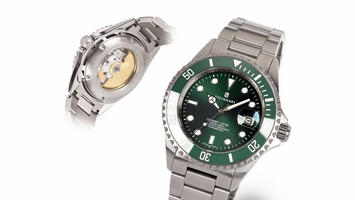 STEINHART OCEAN One Double-GREEN Ceramic Premium 39/42