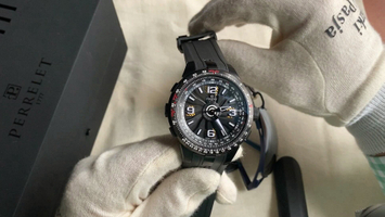 Video recenzja: PERRELET Turbine Pilot Automatic Black PVD
