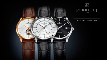 PERRELET kolekcja Weekend i nowy model Weekend GMT