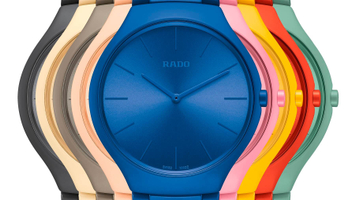 RADO True Thinline Le Couleurs Le Corbusier