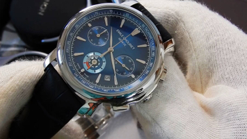 Video recenzja: Emile Chouriet Lac Leman Chronograph Blue