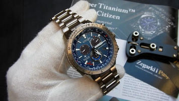 Video recenzja: CITIZEN Promaster Sky Eco-Drive Radio Controlled Super Titanium