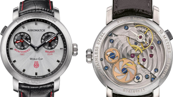 AEROWATCH Renaissance Dual Time - Polish Basketball Anniversary Limited Edition