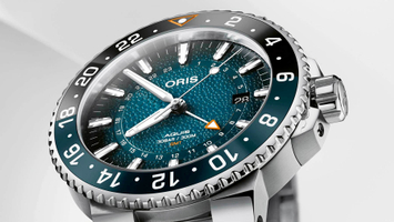 Oris Aquis GMT Whale Shark Limited Edition