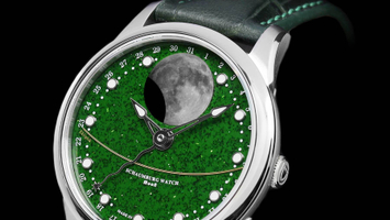 SCHAUMBURG Watch - MooN Grand Perpetual Aventurine
