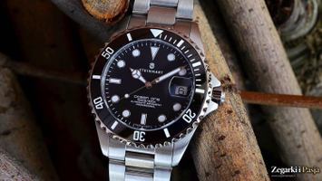 Recenzja: STEINHART Ocean One 39 BLACK Ceramic