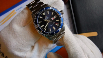 Video recenzja: ORIENT Automatic Diving Sports MAKO III