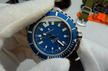 Video recenzja: Steinhart Triton Automatic 30 ATM Blue